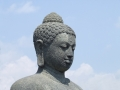 Borobudur - Buddha statue