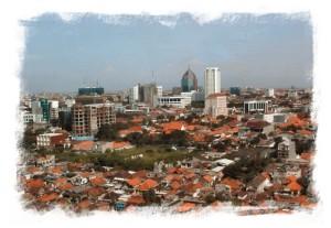 View on Surabaya